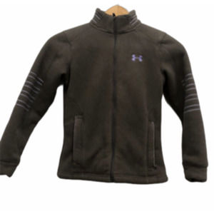 Under armour thick fleece jacket youth